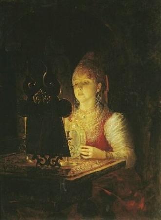 А.Н. Новоскольцев «Светлана». 1889 г.