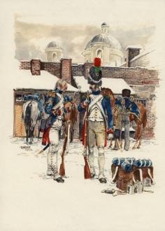 Французы в Вильно.
