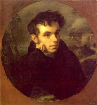 О.Кипренский «Портрет В.Жуковского». 1815 г.